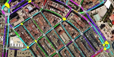 Analisis del tráfico urbano.