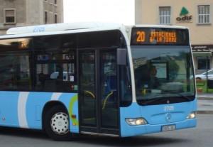 Bus Santander en estación de Adif