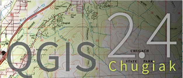 QGIS 2.4 Chugiak