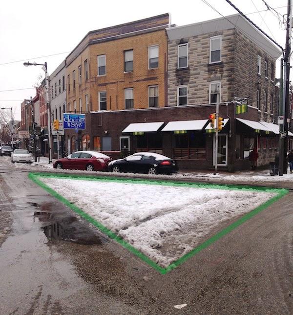 La nieve muestra acciones para el calmado del tráfico