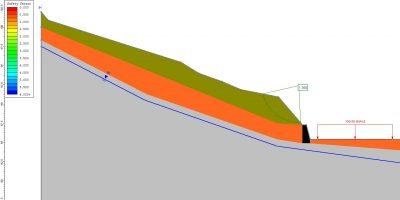 Cálculo estabilidad de una ladera.
